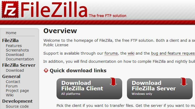 WatFile.com Download Free FileZilla Client Download