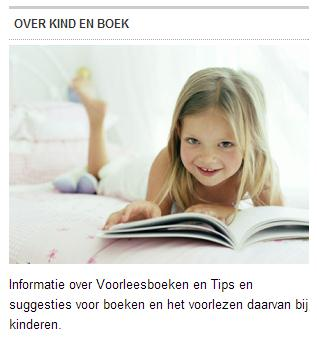 Kind en Boek Tekst Widget