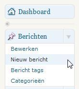 WordPress Nieuw Bericht Schrijven