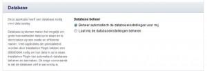 Automatisch Databasebeheer