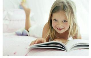 Kind en Boek Tekst Widget