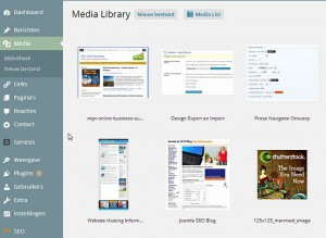 wordpress-media-grid-overzicht